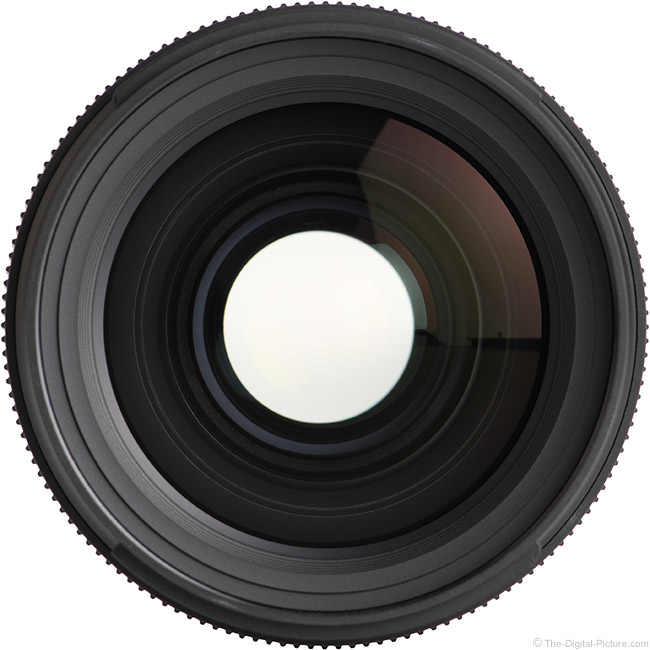 Tamron 35mm f/1.4 Di USD Lens Front View