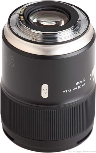 Tamron 35mm f/1.4 Di USD Lens Mount