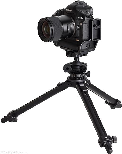 Tamron 35mm f/1.4 Di USD Lens on Tripod