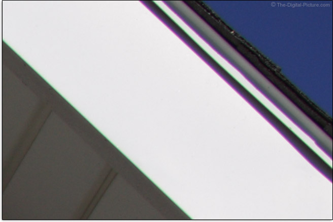 Tamron 35mm f/1.8 Di VC USD Lens Lateral Chromatic Aberration