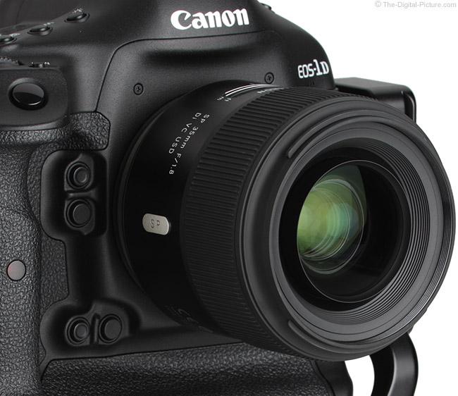 Tamron 35mm f/1.8 Di VC USD Lens Focus Extension Example