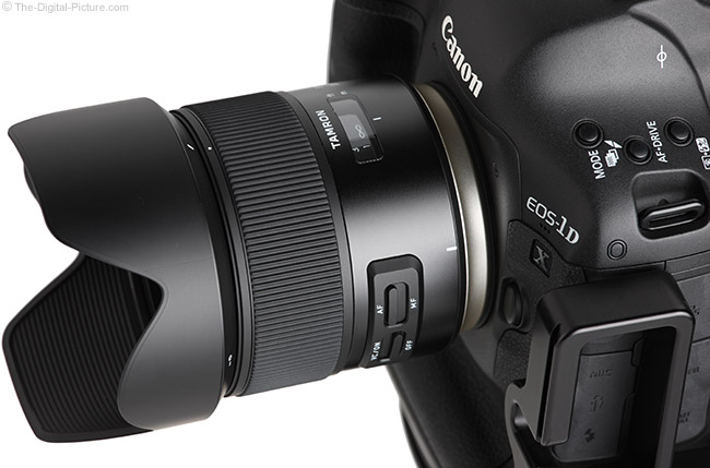 Tamron 35mm f/1.8 Di VC USD Lens Angle