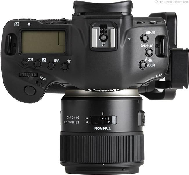 Tamron 35mm f/1.8 Di VC USD Lens Top