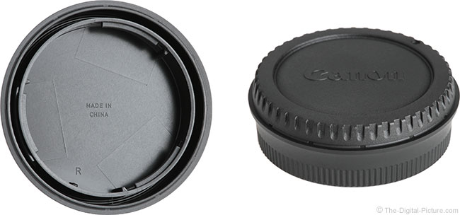 Tamron 45mm f/1.8 Di VC USD Lens Caps
