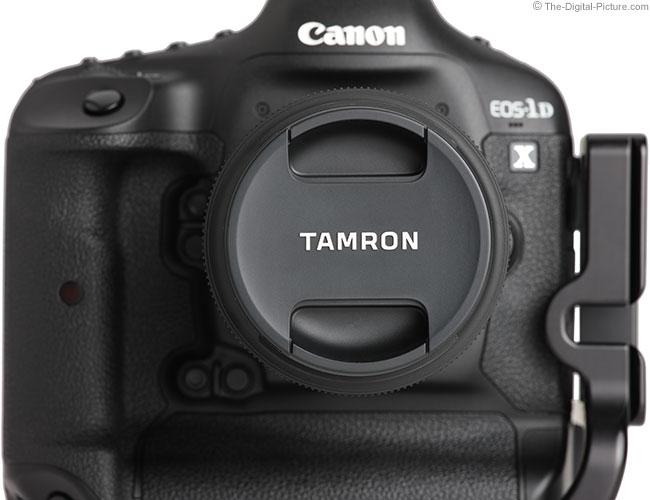 Tamron 35mm f/1.8 Di VC USD Lens Cap