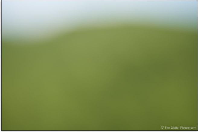 Tamron 70-180mm f/2.8 Di III VXD Lens Maximum Blur Example