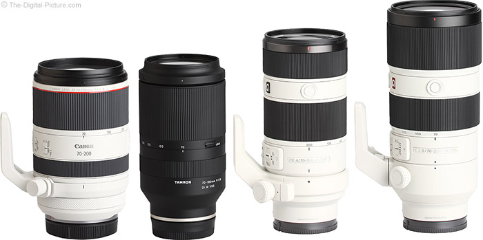 Tamron 70-180mm f/2.8 Di III VXD Lens Compared to Similar Lenses