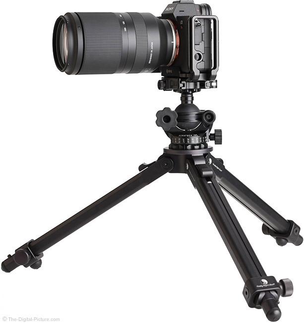 Tamron 70-180mm f/2.8 Di III VXD Lens on Tripod