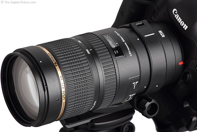 Tamron 70-200mm f/2.8 Di VC USD Lens Close-Up
