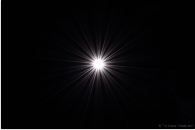 Tamron 70-210mm f/4 Di VC USD Lens Starburst Effect Example