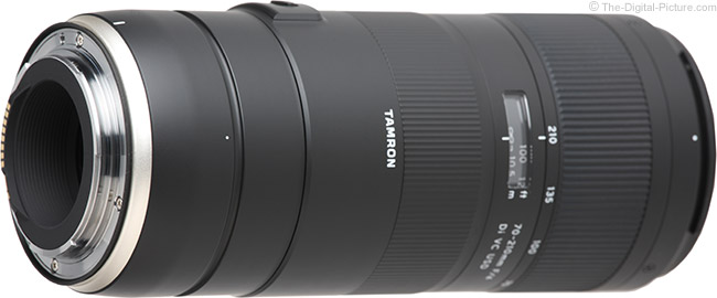 Tamron 70-210mm f/4 Di VC USD Lens Mount