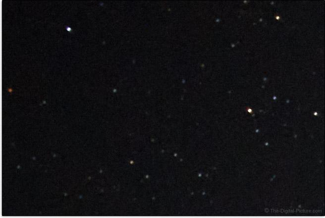 Tamron 70-300mm f/4.5-6.3 Di III RXD Lens Coma Example