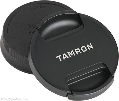Tamron 85mm f/1.8 Di VC USD Lens Caps