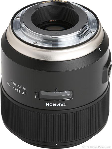 Tamron 85mm f/1.8 Di VC USD Lens Mount