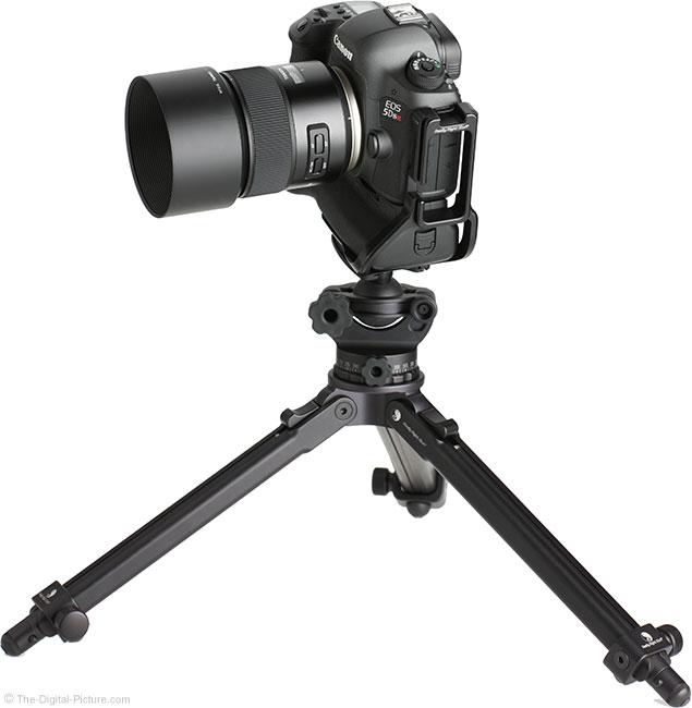 Tamron 85mm f/1.8 Di VC USD Lens on Tripod