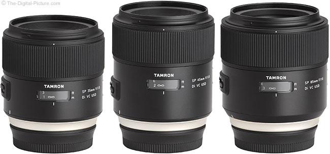 Tamron f/1.8 Di VC Lenses