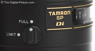Tamron 90mm Macro Lens Focus Limit Switch