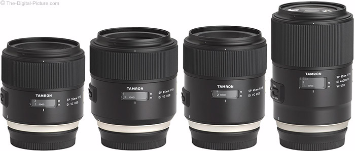 Tamron Di VC Lenses
