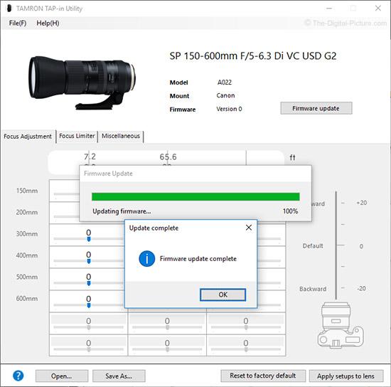 Tamron Tap-In Console for Nikon Lenses Black