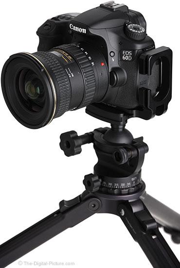 Tokina 11-16mm f/2.8 AT-X Pro DX II Lens on Tripod