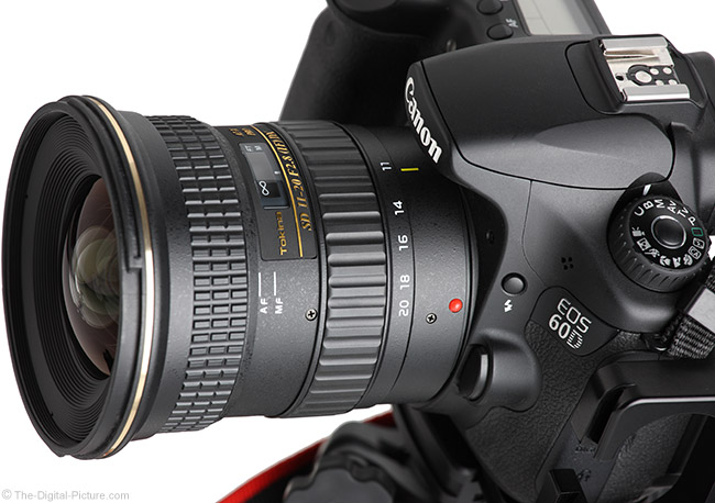 Tokina 11-20mm f/2.8 AT-X Pro DX Lens Angle View