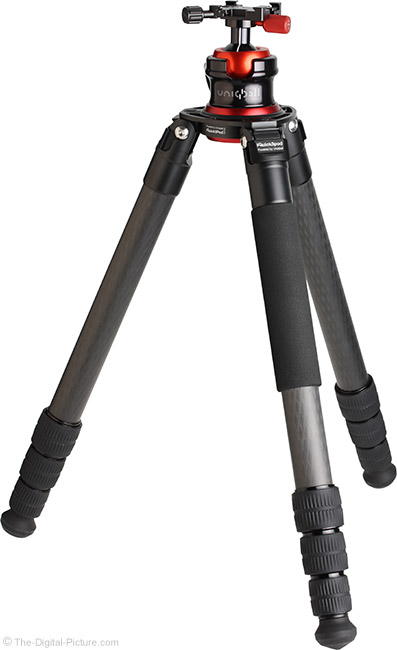 UniqBall IQuick3Pod 40.4 Carbon Fiber Tripod with Head