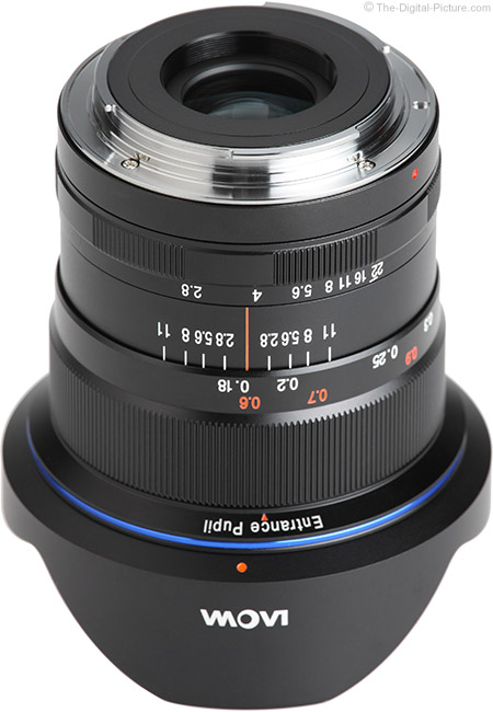 Venus Optics Laowa 12mm f/2.8 Zero-D Lens Mount
