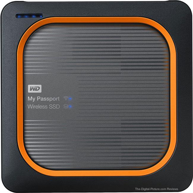 WD My Passport Wireless SSD Views