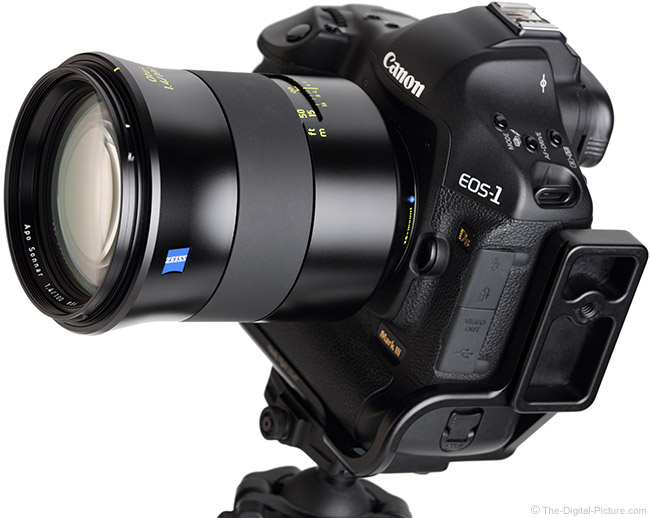 Zeiss 100mm f/1.4 Otus Lens Angle View