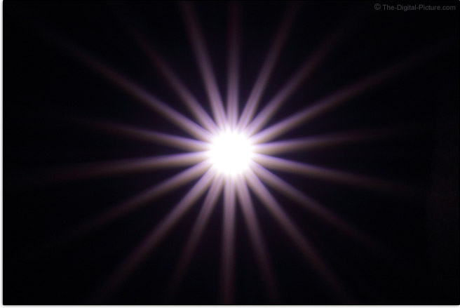 Zeiss 135mm f/2 Milvus Lens Sunstar Effect Example