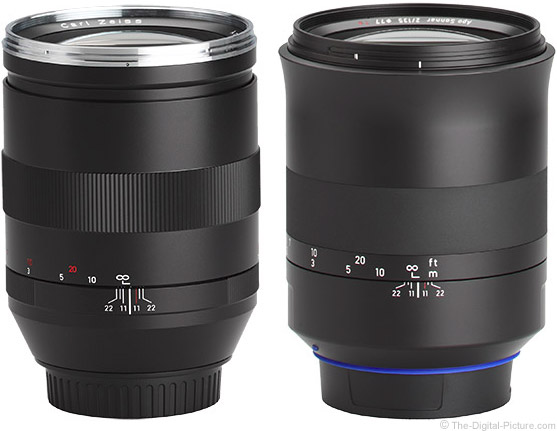 Zeiss 135mm f/2 Milvus Compared to Classic Lens
