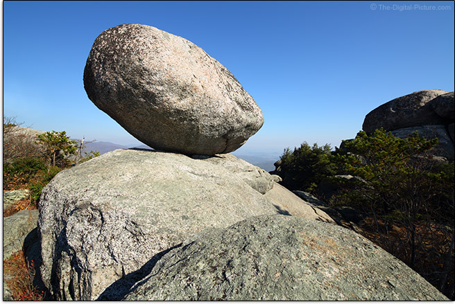 Balanced Rock on Old Rag Mountain