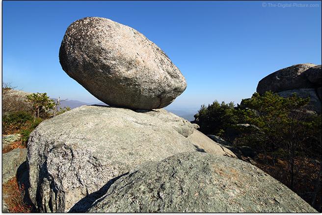Balanced Rock on Old Rag Mountain