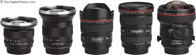 Ultra Wide Angle Lenses