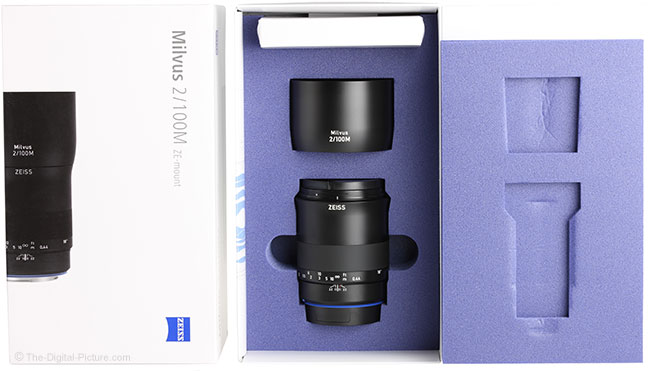 Zeiss Milvus 100mm f/2M Lens Box