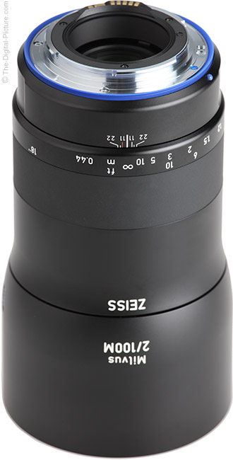 Zeiss Milvus 100mm f/2M Lens Mount