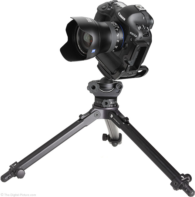 Zeiss Milvus 21mm Lens on Tripod