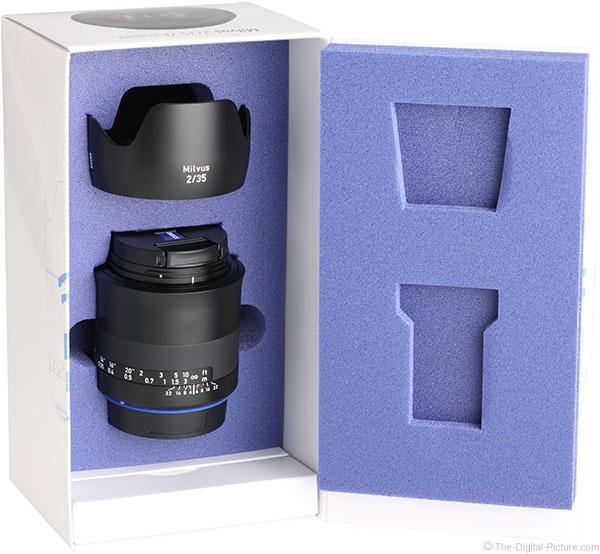 Zeiss Milvus 35mm f/2M Lens Box