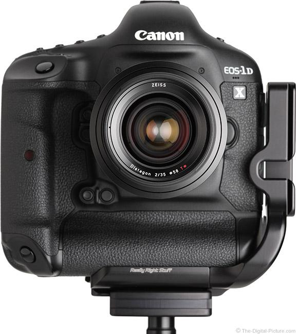 Zeiss Milvus 35mm f/2M Lens Front View