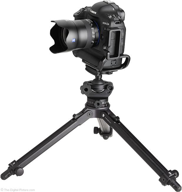 Zeiss Milvus 35mm f/2M Lens on Tripod