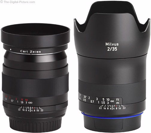 Zeiss Milvus 35mm f/2M Lens with Predecessor