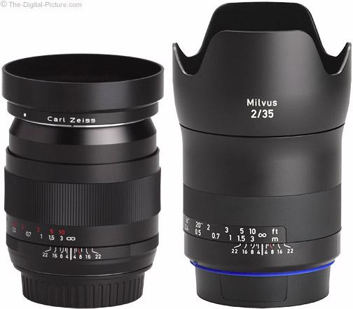 Zeiss Milvus 35mm f/2M Lens with Predecessor