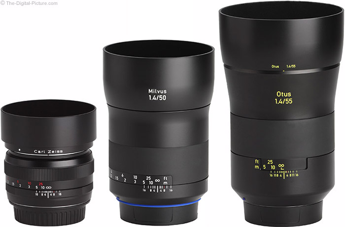 Zeiss Milvus 50mm f/1.4 Lens with Predecessor