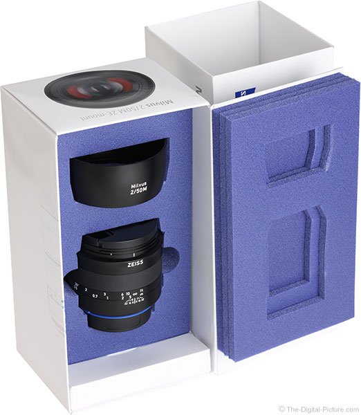 Zeiss Milvus 50mm f/2M Lens Box