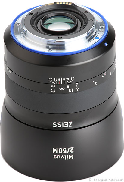 Zeiss Milvus 50mm f/2M Lens Mount
