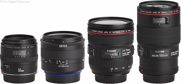 Zeiss 50mm f/2M Milvus Lens Compared to Similar Lenses