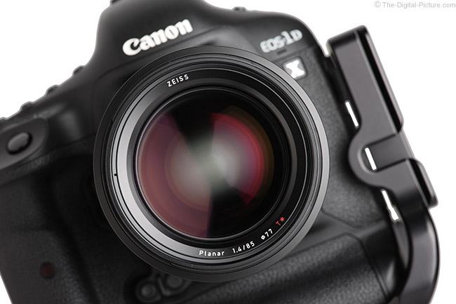 Zeiss Milvus 85mm f/1.4 Lens Front Second View