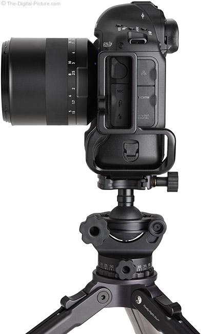 Zeiss Milvus 85mm f/1.4 Lens on Tripod