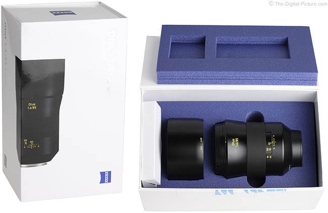 Zeiss Otus 85mm f/1.4 Lens Case/Box