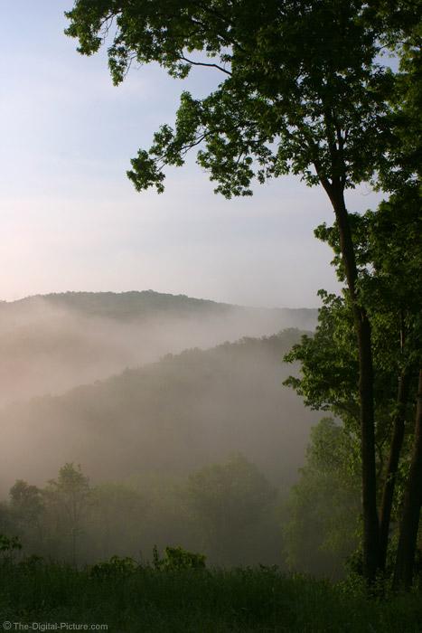 Misty Sunrise Picture